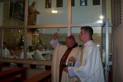 Adoračná kaplnka posvätenie biskupom Viliamom Judákom.