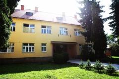 Budova kláštora v Zlatých Moravciach